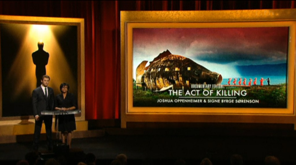 THE ACT OF KILLING nominated for Best Documentary Feature